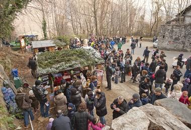 La Grotta Di Babbo Natale Comune Di Ornavasso